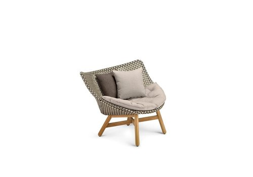 DEDON MBRACE LOUNGE CHAIR IN PEPPER