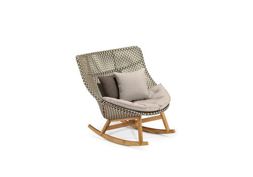 DEDON MBRACE ROCKING CHAIR IN PEPPER