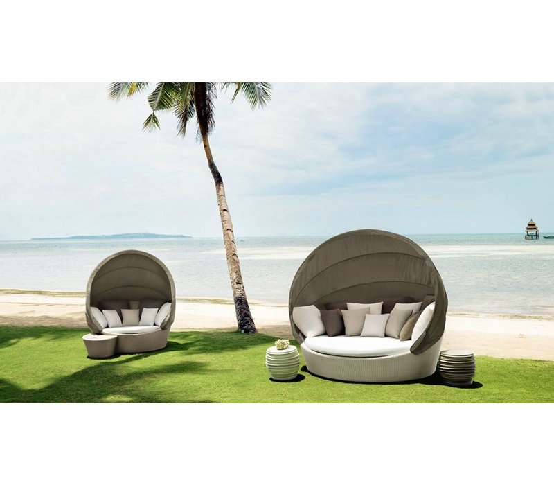 ORBIT LOVESEAT WITH CANOPY
