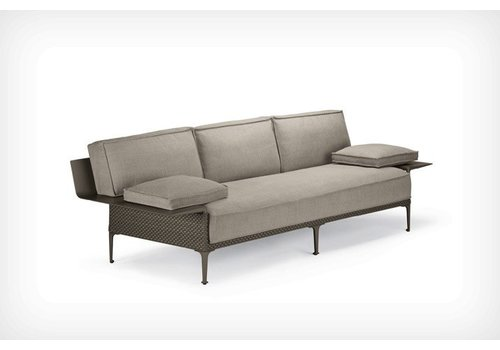 DEDON RAYN 3-SEATER SOFA WITH LEFT AND RIGHT ARMREST - COLOR VENETO
