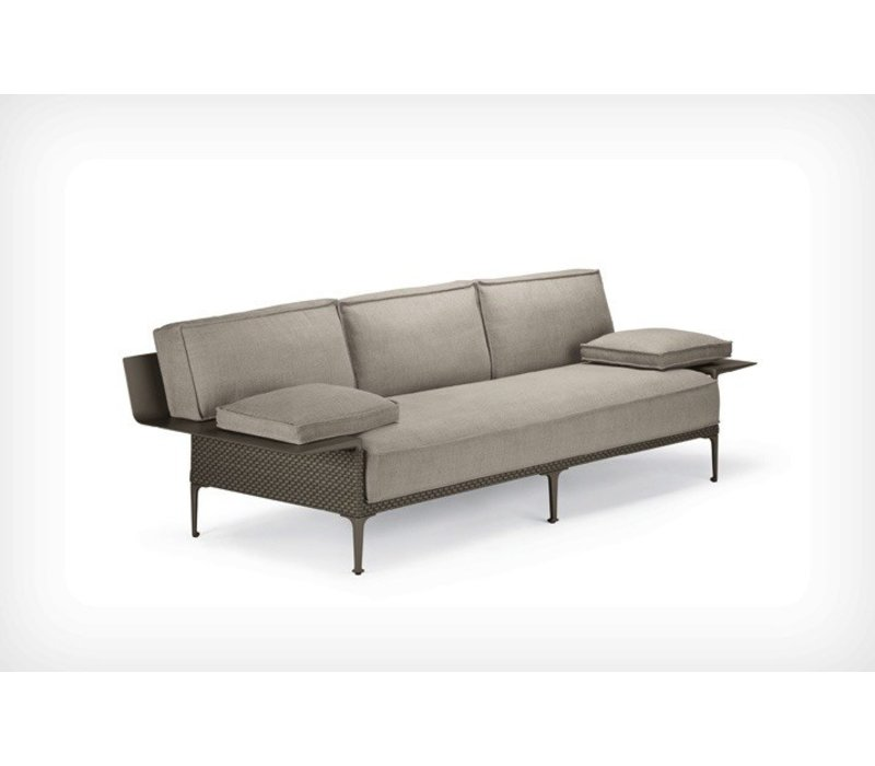 RAYN 3-SEATER SOFA WITH LEFT AND RIGHT ARMREST - COLOR VENETO