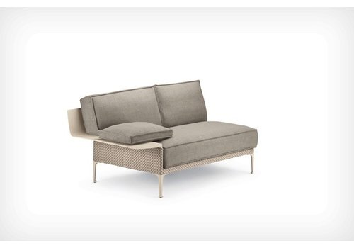 DEDON RAYN SECTIONAL RIGHT MODULE WITH ARMREST
