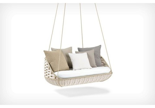 DEDON SWINGUS 2-SEATER IN CHALK