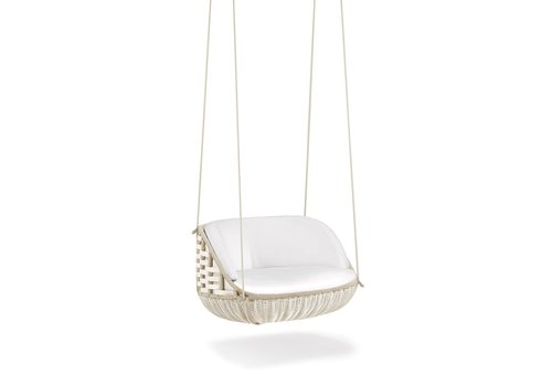 DEDON SWINGME HANGING LOUNGE CHAIR IN CHALK