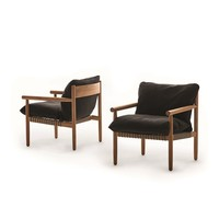 TIBBO LOUNGE CHAIR WITH VULCANO MATTE WEAVE
