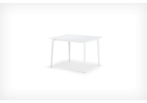 DEDON WA DINING TABLE - WHITE HPL TOP