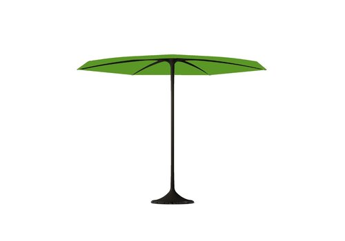 ROYAL BOTANIA PALMA UMBRELLA - BLACK COATED ALUMINUM FRAME - LIME COLOR COVER