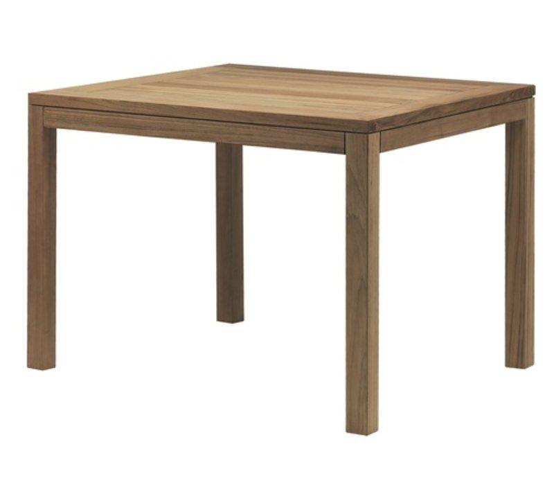 XQI 31 SQUARE TEAK DINING TABLE