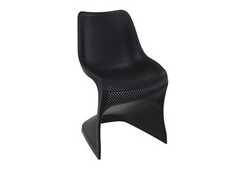 SIESTA BLOOM DINING CHAIR - BLACK