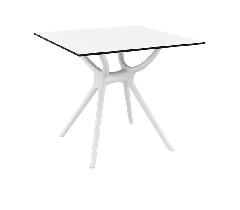 """AIR RECTANGLE DINING TABLE 55"""" x 31"""" WHITE"""