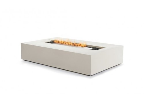 FLO BIOETHANOL FIRE TABLE IN BONE FINISH