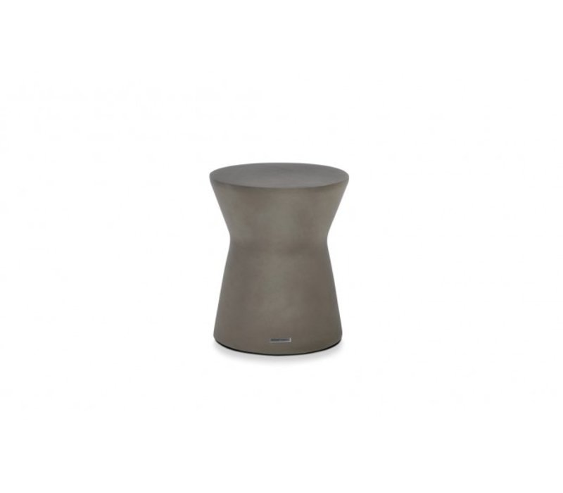 PIVOT STOOL OR SIDE TABLE, NATURAL