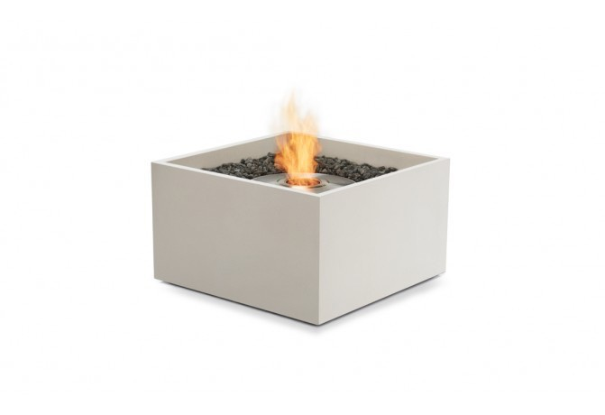 Rise Bioethanol Fire Pit In Bone Kolo Collection