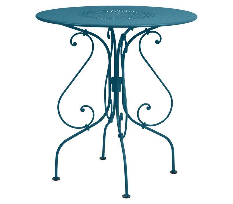 1900 26 INCH ROUND PEDESTAL TABLE