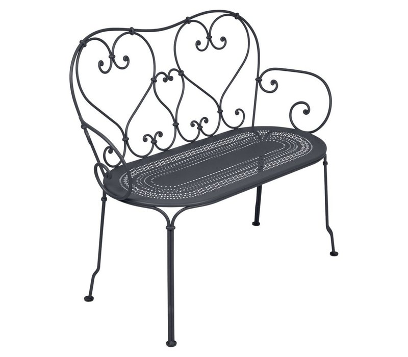 1900 BENCH WITH  PERFORATED SEAT