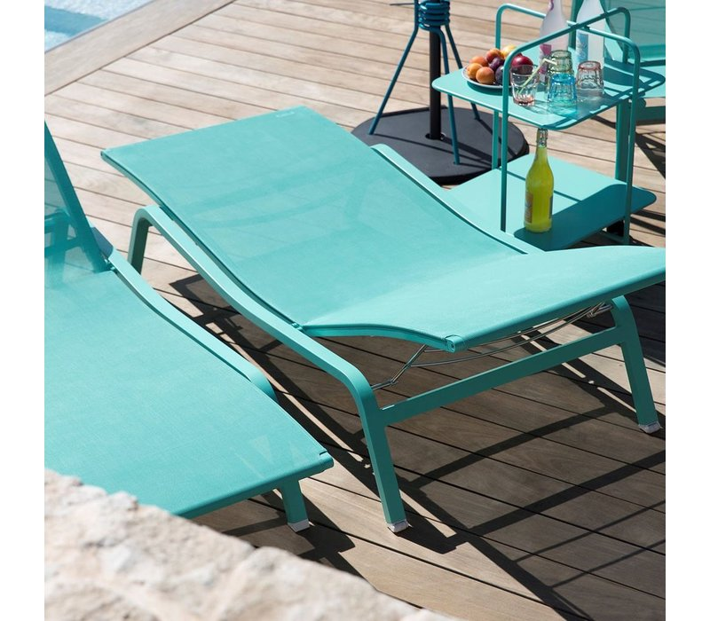 ALIZE ADJUSTABLE STACKING SUN LOUNGER