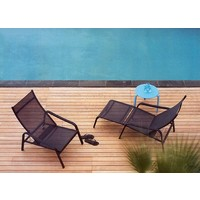 ALIZE DECK CHAIR WITH FOOTREST