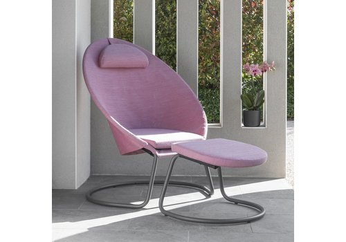 LAFUMA COCOON LOUNGE CHAIR / ORCHID