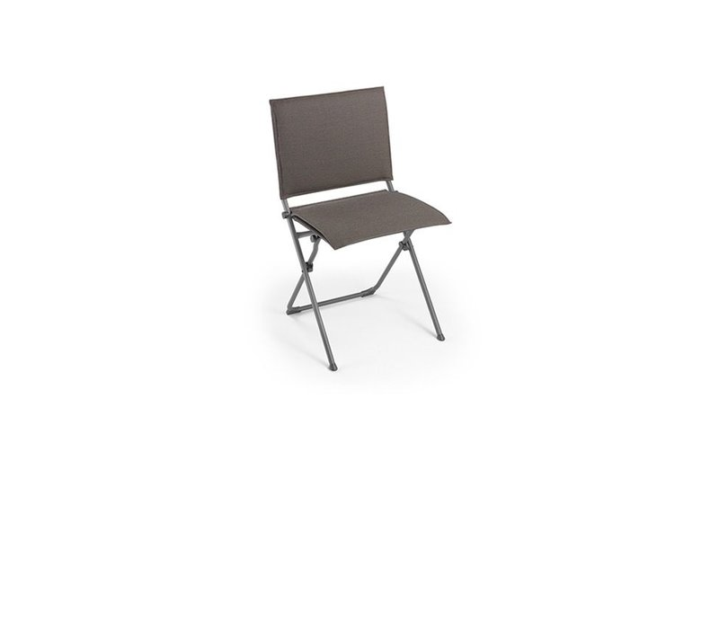 ANYTIME FOLDING DINING SIDE CHAIR / EXPRESSO SLING