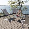 LAFUMA SPHINX FOLDING LOUNGE CHAIR / LATTE