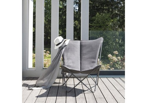 LAFUMA SPHINX FOLDING LOUNGE CHAIR / EXPRESSO