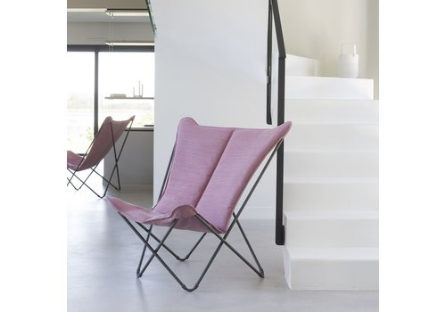LAFUMA SPHINX FOLDING LOUNGE CHAIR / ORCHID