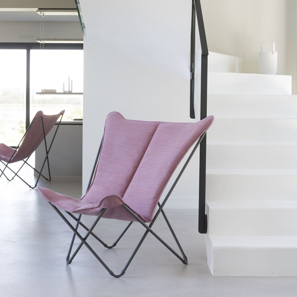 SPHINX FOLDING LOUNGE CHAIR / ORCHID
