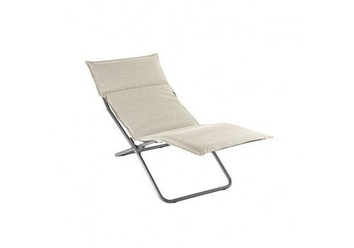 LAFUMA TRANSALOUNGE FOLDING LOUNGE CHAIR / LATTE