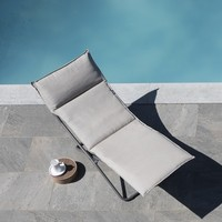 TRANSALOUNGE FOLDING LOUNGE CHAIR / LATTE