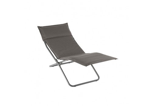 LAFUMA TRANSALOUNGE FOLDING LOUNGE CHAIR / EXPRESSO