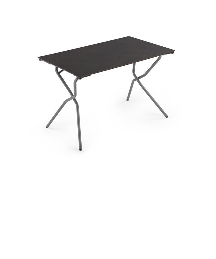 Lafuma anytime rectangular folding table volcanic kolo - Lafuma camping table ...