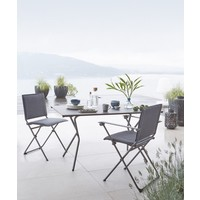 ANYTIME RECTANGULAR FOLDING TABLE / VOLCANIC