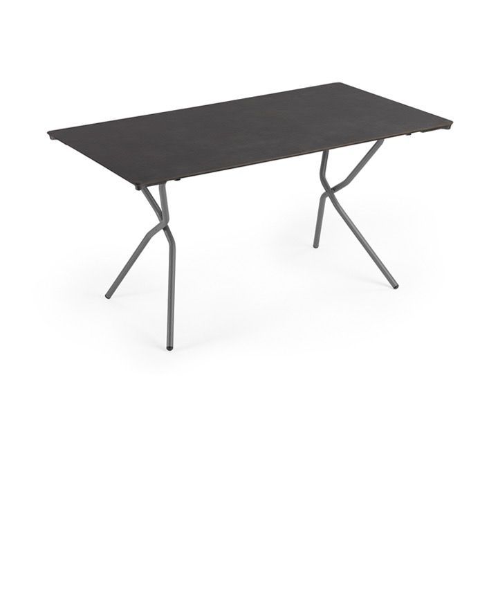lafuma anytime big rectangular folding table volcanic kolo collection. Black Bedroom Furniture Sets. Home Design Ideas