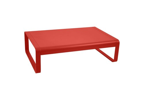 FERMOB BELLEVIE LOW TABLE IN POWDER COATED ALUMINUM