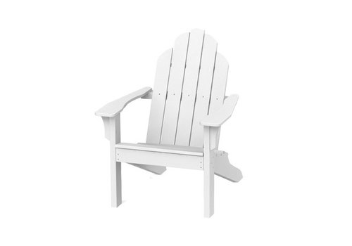 SEASIDE CASUAL ADIRONDACK CLASSIC CHAIR - WHITE