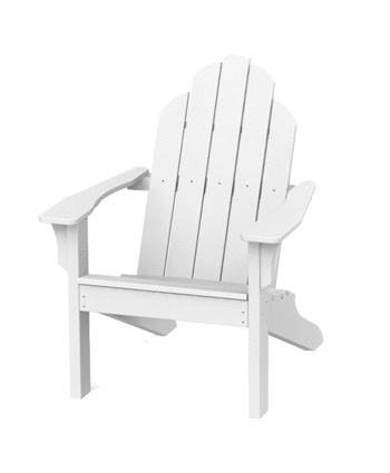 Seaside casual adirondack classic chair white kolo Seaside collection furniture