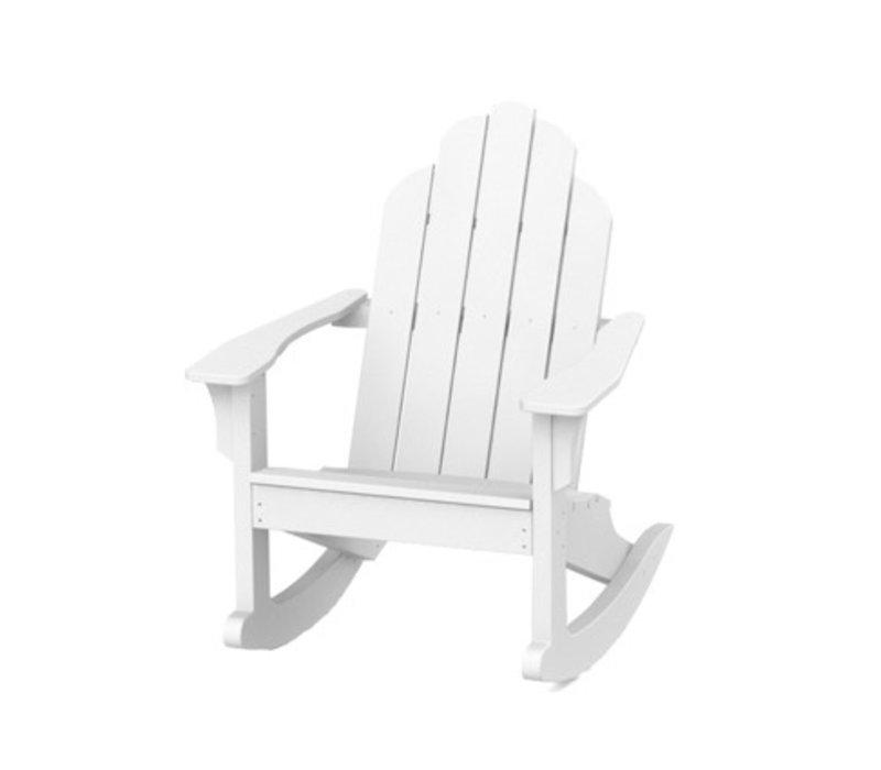 ADIRONDACK CLASSIC ROCKER - WHITE