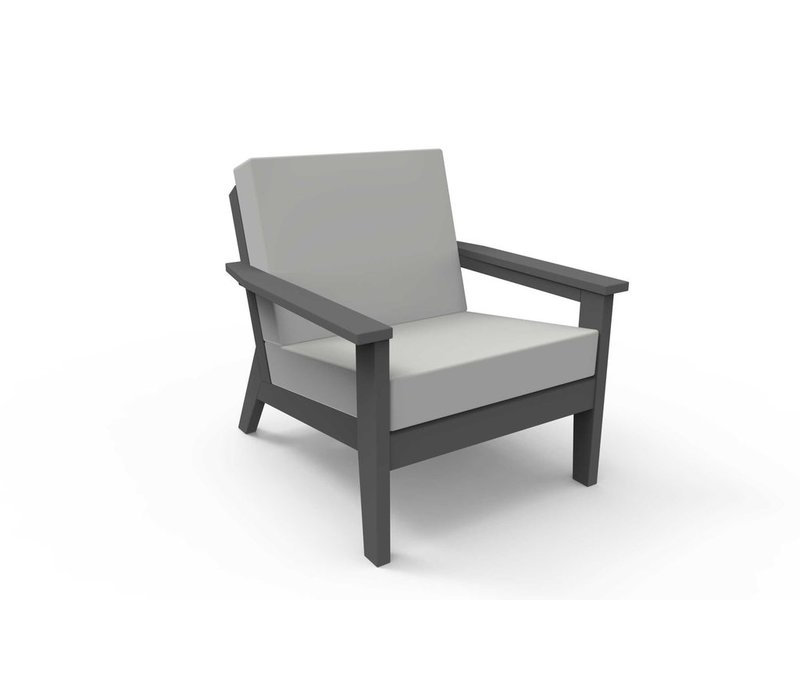 DEX CLUB CHAIR - CHARCOAL