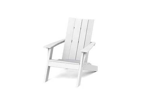 SEASIDE CASUAL MADIRONDACK CHAIR - WHITE
