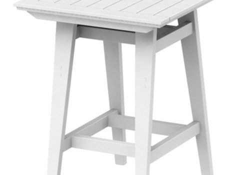 SEASIDE CASUAL MAD BAR TABLE - WHITE