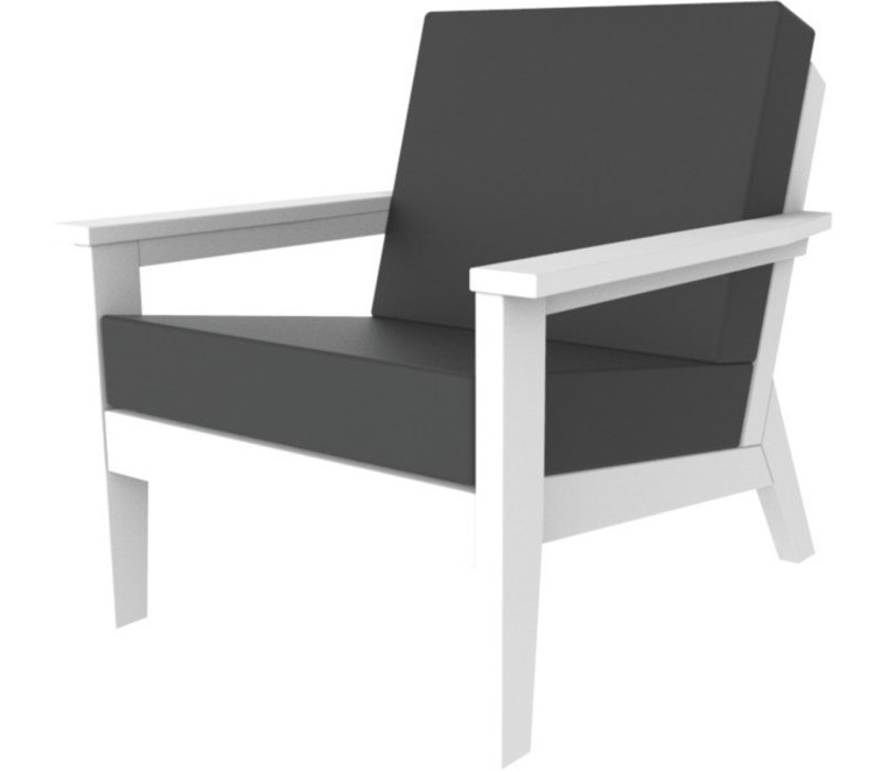 DEX CLUB CHAIR - WHITE