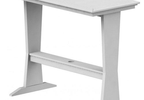 SEASIDE CASUAL SYM PUB TABLE - WHITE