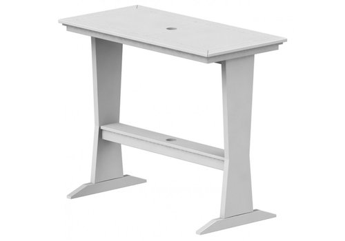 SEASIDE CASUAL SYM PUB TABLE - WHITE