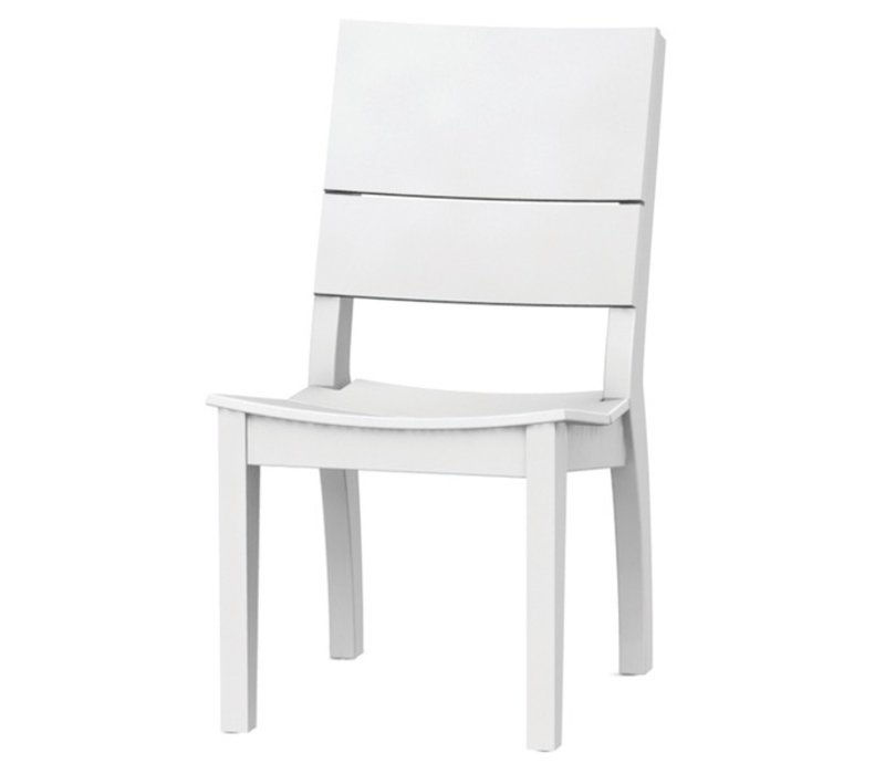 SYM SIDE CHAIR - WHITE