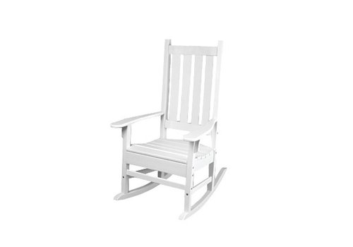 SEASIDE CASUAL TRADITIONAL ROCKER - WHITE