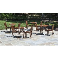 OPAL BISTRO STACKING CHAIR - SOLD IN PAIRS