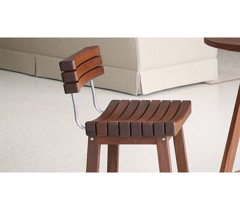 SUNSET BAR STOOL WITH BACK