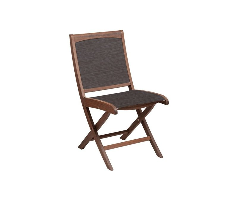 TOPAZ FOLDING SLING SIDE CHAIR - PONDEROSA SLING