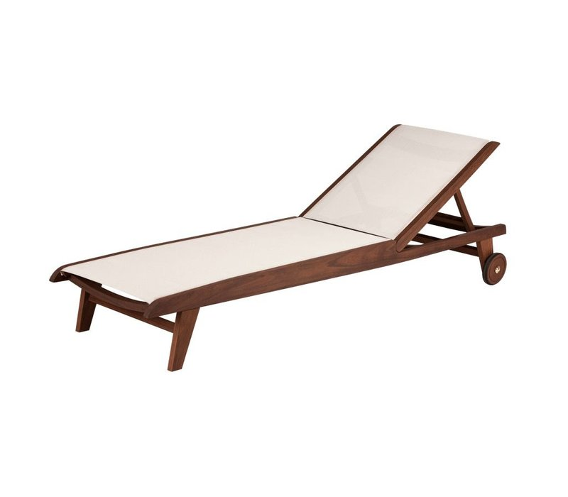 TOPAZ SLING CHAISE LOUNGE NATURAL