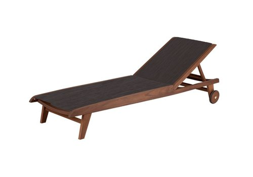 JENSEN LEISURE FURNITURE TOPAZ SLING CHAISE LOUNGE - PONDEROSA SLING
